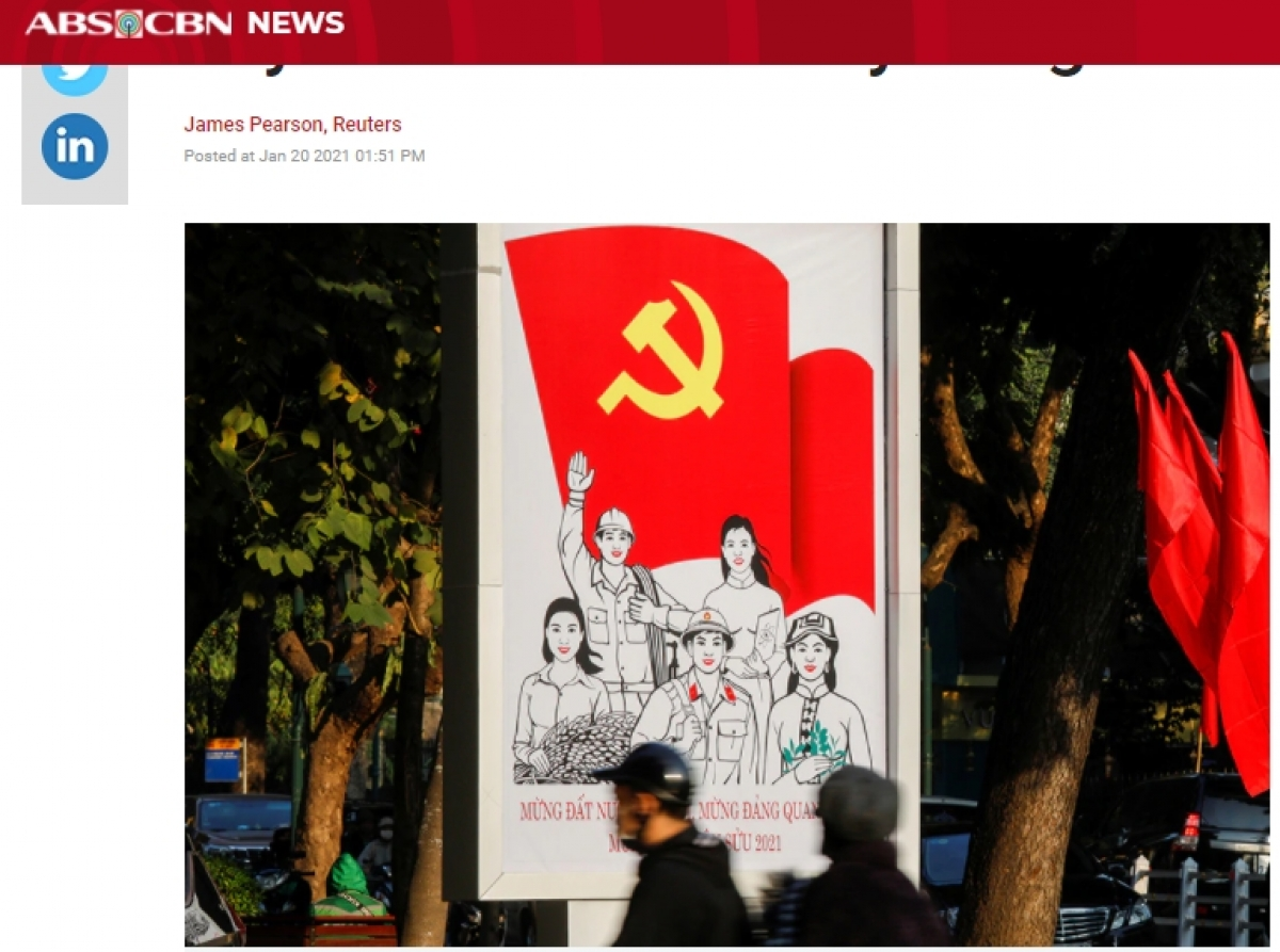 Foreign media highlight Vietnamese people's trust in ruling party
