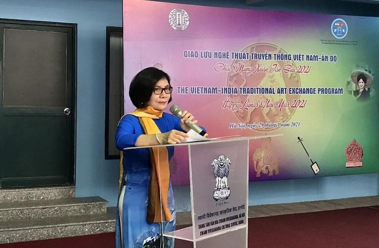 vietnam india traditional art exchange program held to welcome lunar new year 2021