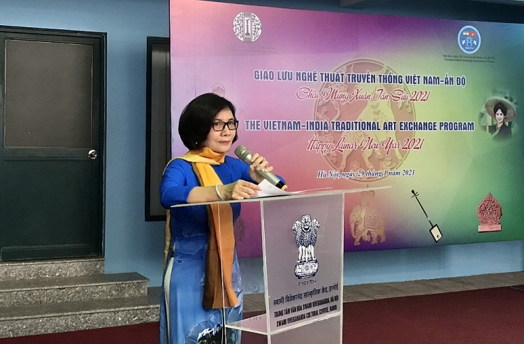 vietnam india traditional art exchange program held to welcome lunar new year 2021