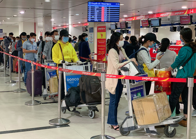 Vietnam's airports requested to implement anti-Covid-19 measures at highest-level alert