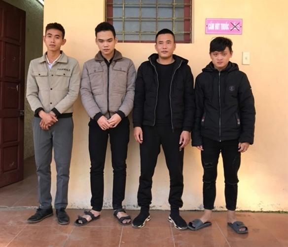 vietnam police destroys criminals hacking facebook to appropriate property