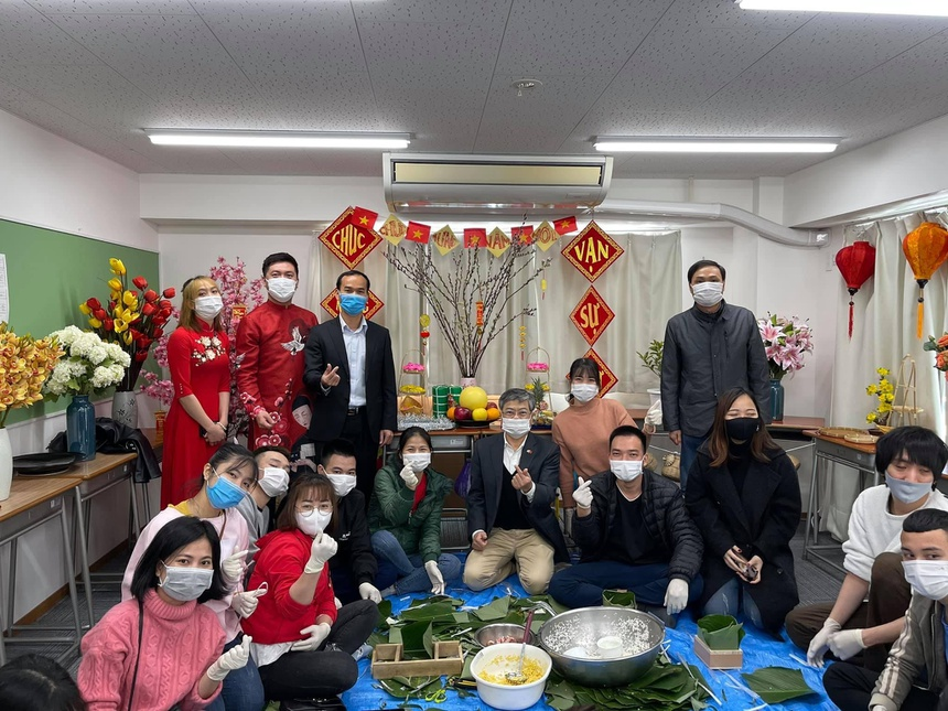Vietnamese expats in Japan gather for Tet holiday