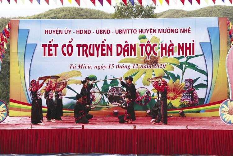 Traditional New Year of Ha Nhi ethnic people