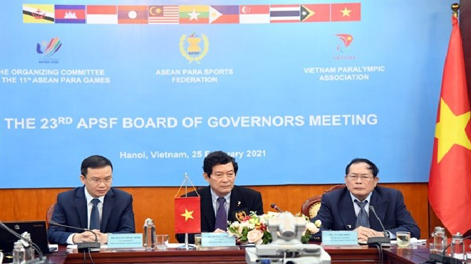 vietnam to officially host asean para games 11 in december