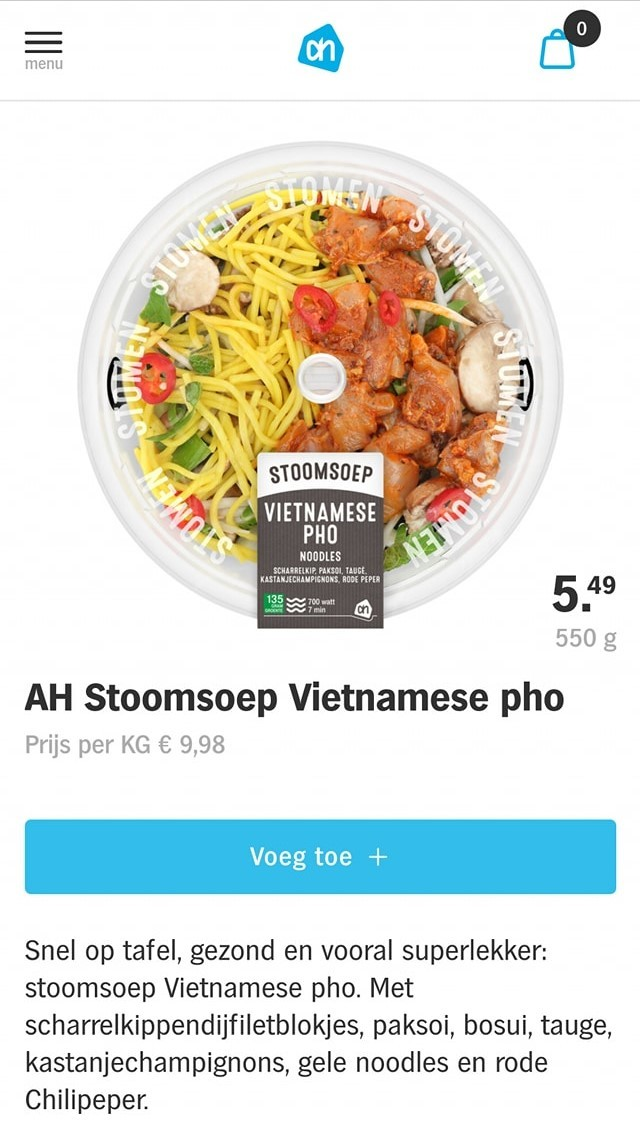 """Supermarket in the Netherlands threatened to boycott for selling """"fake"""" Vietnamese Pho"""