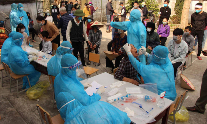 Hai Duong coronavirus-hit epicenter to end social distancing on March 3