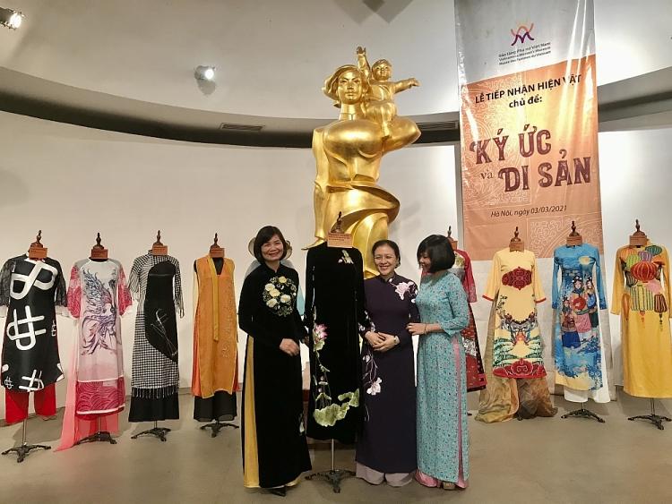 vufo president nguyen phuong nga ao dai deserves an intangible cultural heritage of humankind worldwide