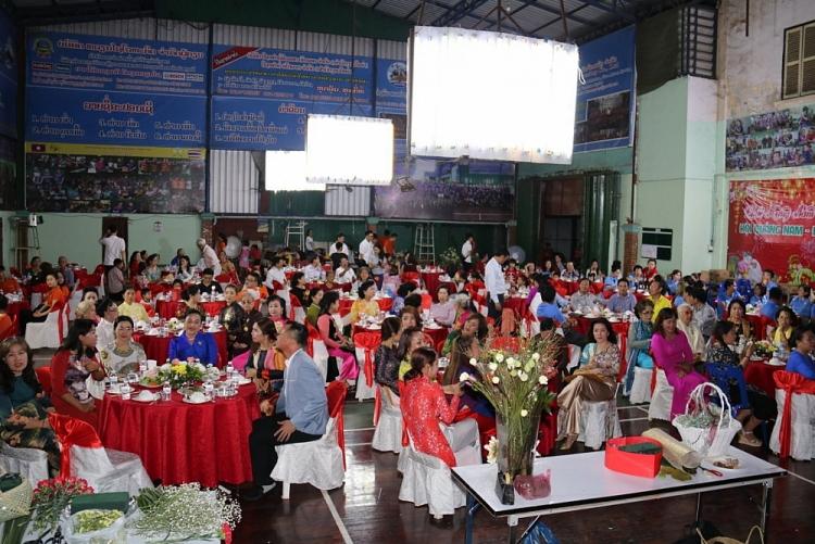 Vietnamese Association in Vientiane (Laos) celebrates International Women's Day