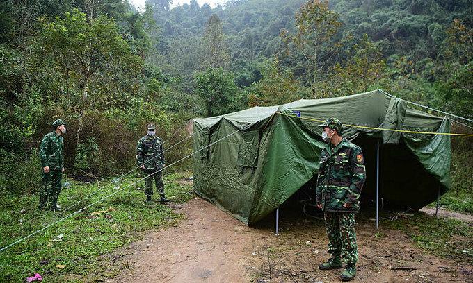 34 Chinese citizens illegally enter Vietnam