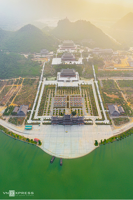 the worlds largest pagoda in vietnam a sanctuary of birds