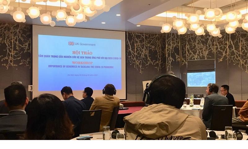 Vietnam, UK discuss capacity of genomics in tackling the Covid-19 pandemic