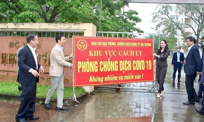 Field hospital in Hai Duong Covid-19 hotspot dissolved