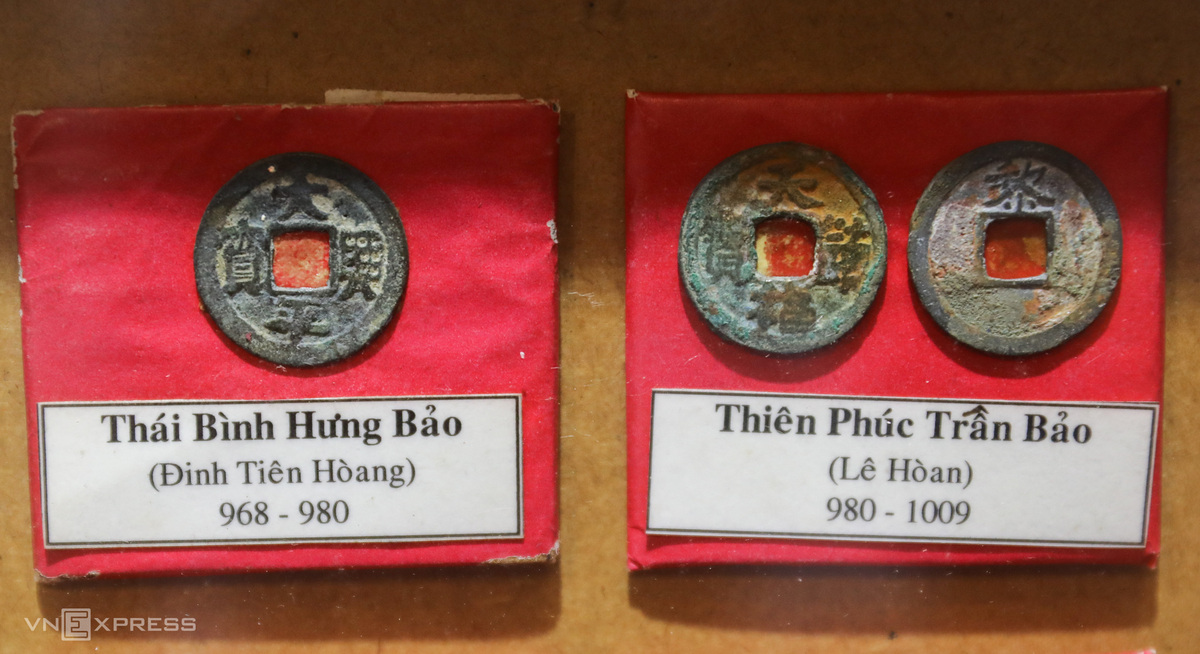 Unique collection of 'fossil' ancient coins of Saigon's man