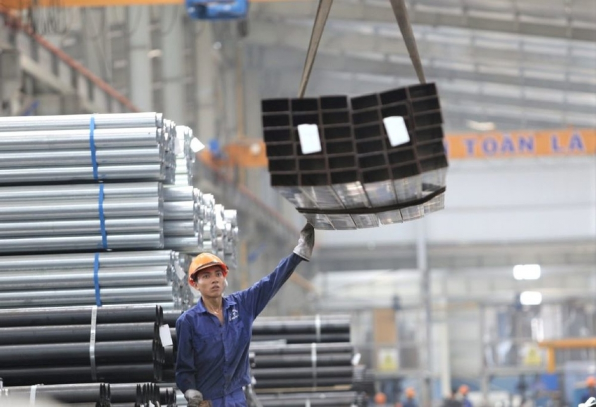 Vietnam earns $1.82 billion from iron and steel exports in first quarter 2021