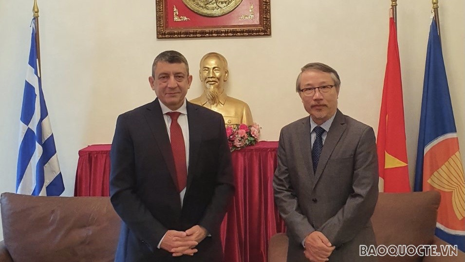 Vietnam aspires to foster maritime cooperation with Greece