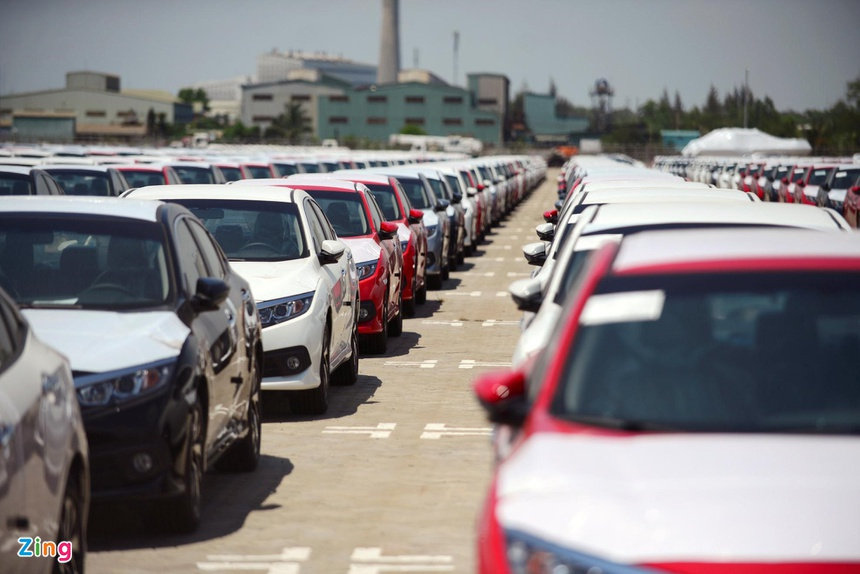 Cars imported from South Korea into Vietnam skyrockets