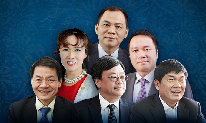 Six Vietnamese billionaires make Forbes 2021 world's richest list