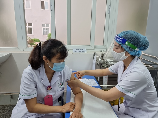 How health of volunteers participating in human trials of Vietnam home-grown Covid-19 vaccines?
