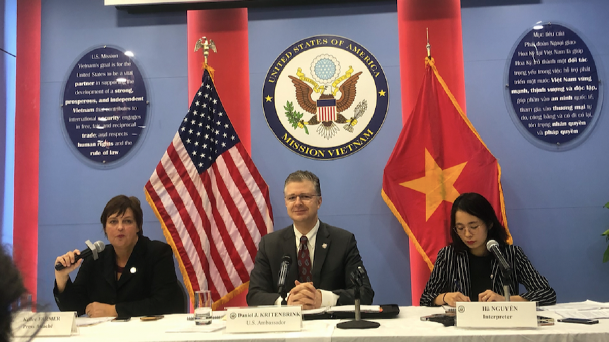 Outgoing US ambassador optimistic of stronger Vietnam-US ties