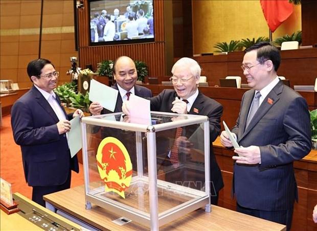German media spotlights Vietnam's new leadership