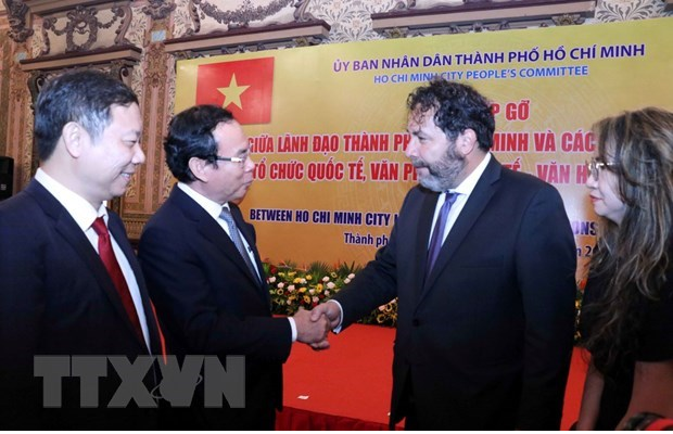 HCM City promotes cooperation with foreign partners