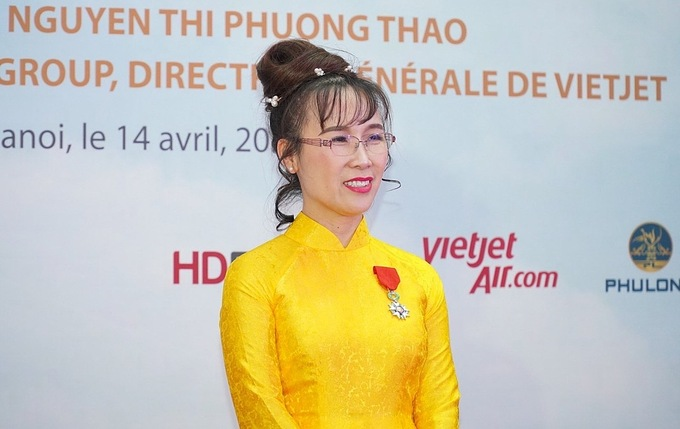 First Vietnamese businesswoman receives France's National Order of Legion of Honour