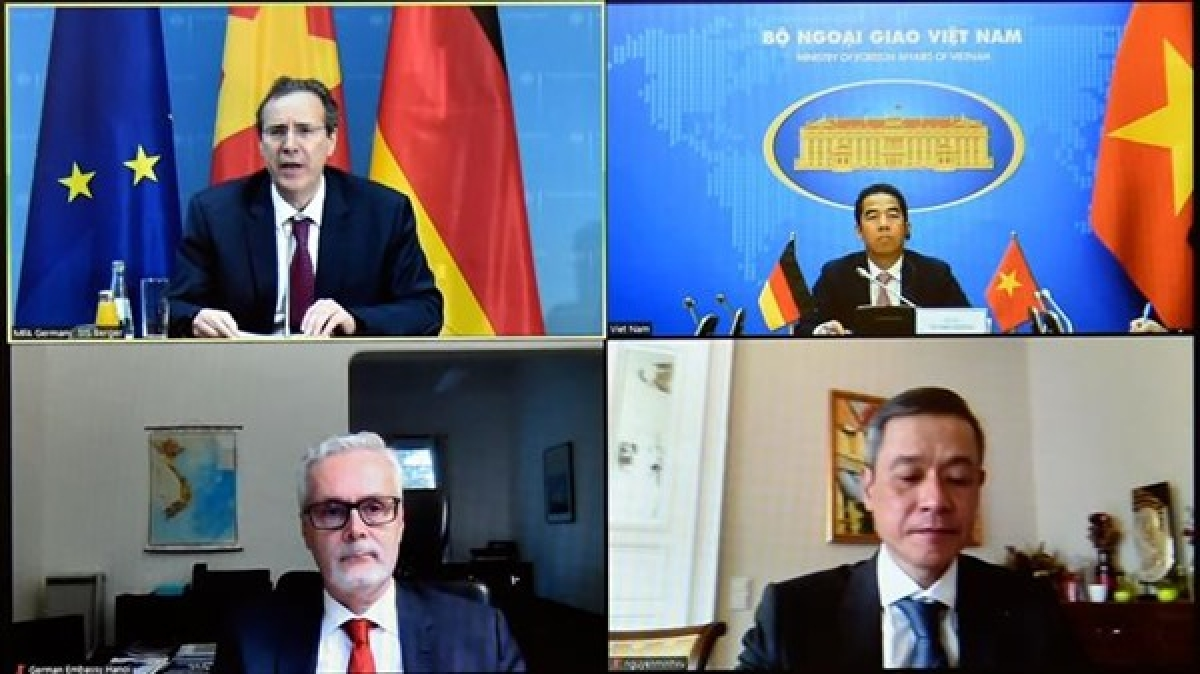 Vietnam-Germany ties enjoy strong growth in various fields despite Covid-19