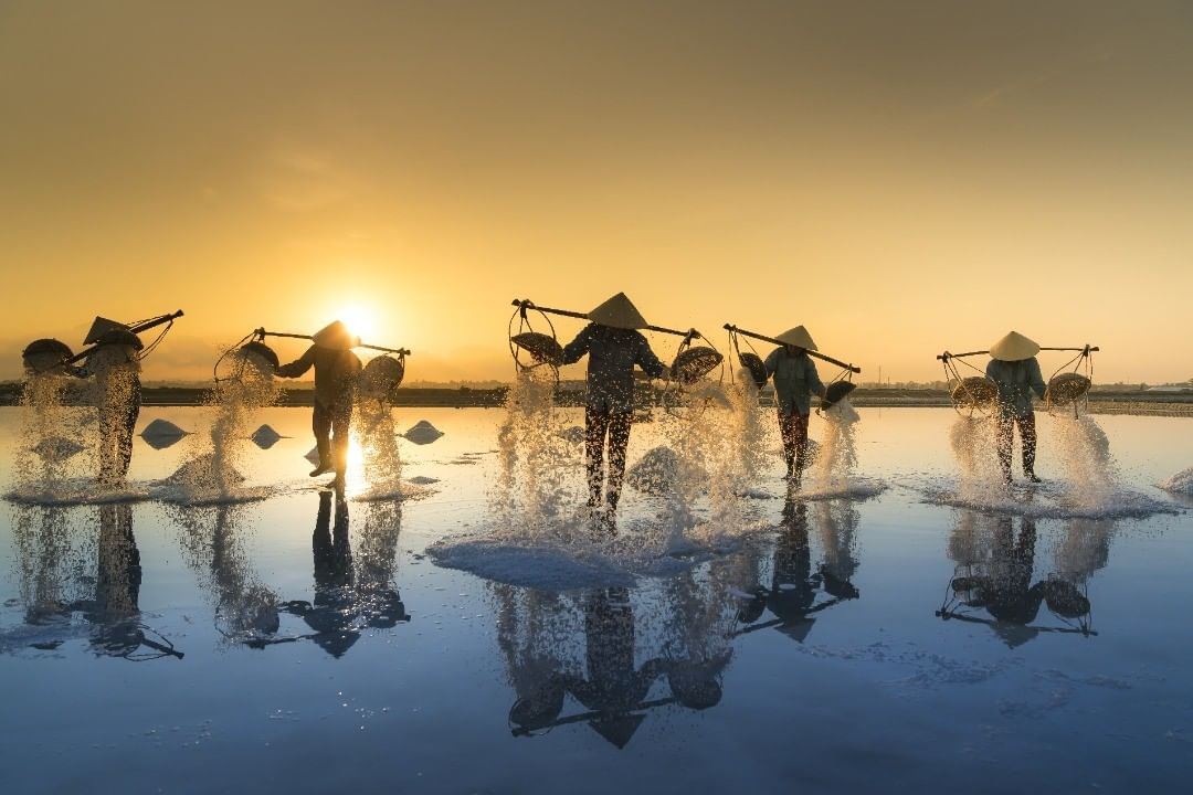 Top 4 magnificent salt fields in Vietnam's Central region
