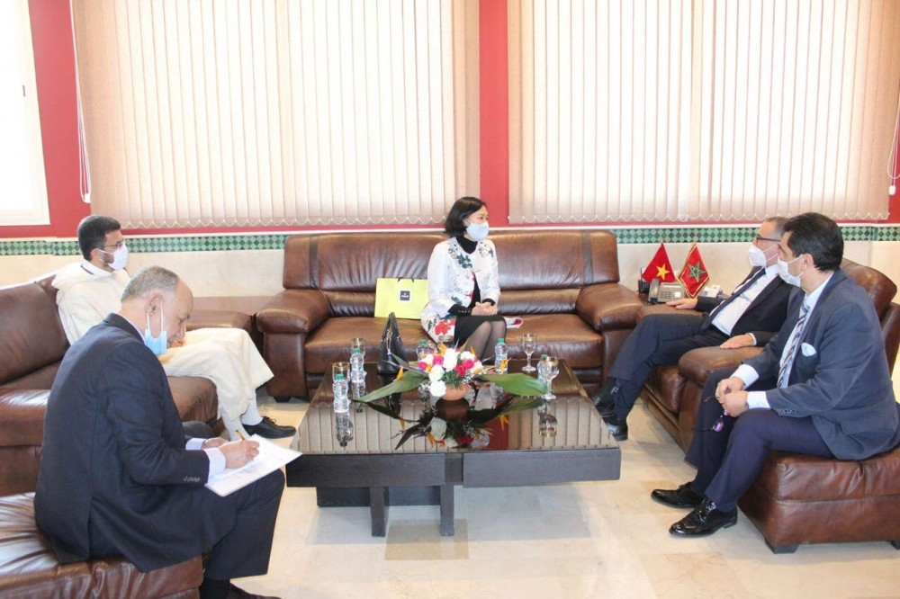 Vietnam's city promotes multifaceted cooperation with Tanger, Morocco