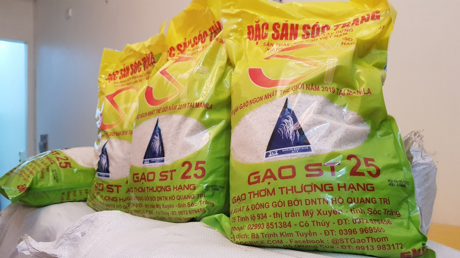 Foreign firms register trademark protection for Vietnamese rice in U.S