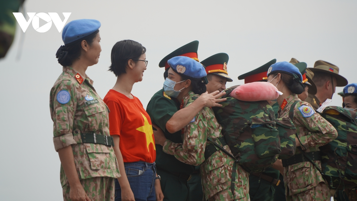 More 24 Vietnamese soldiers head to South Sudan for Peacekeeping Mission