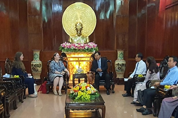 Vietnam's city seeks multifaceted cooperation with U.S localities