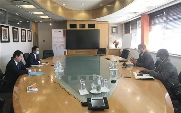 Vietnam, South Africa beef up bilateral trade ties