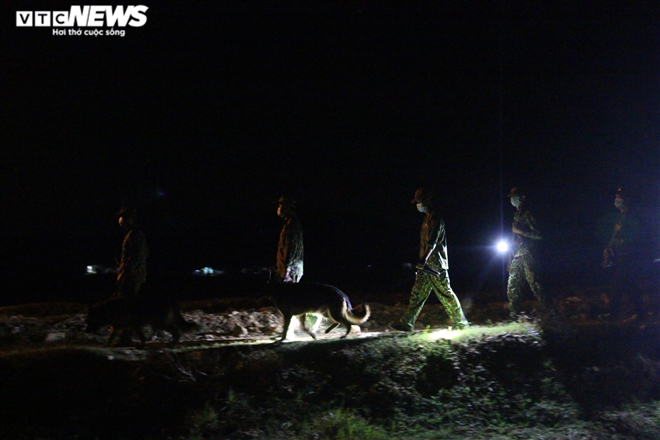 In Photos: Border guard works day and night to ramp up Southwestern border control
