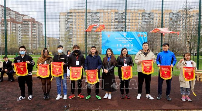 Vietnamese Students' Sports Festival held in Moscow to celebrate major national holidays