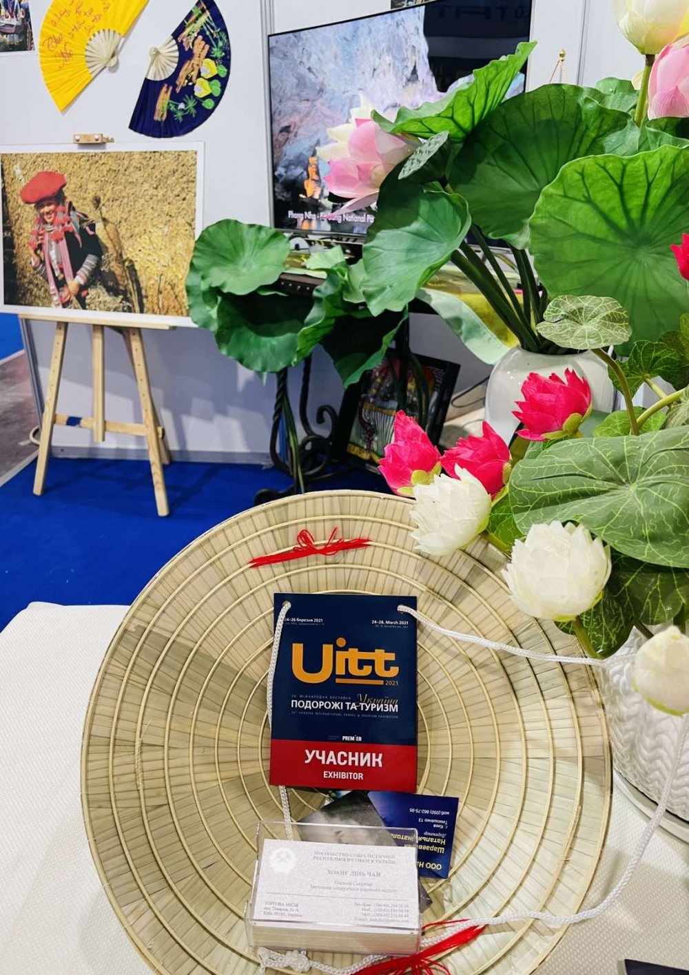 Vietnam's tourism boosted at Ukraine International Travel and Tourism Exhibition 2021