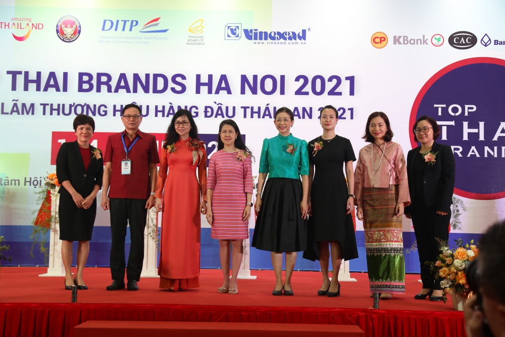 """""""Top Thai Brands 2021"""" Expo features 60 standard booths to promote Thai products in Hanoi"""