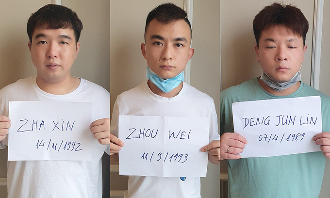 Chinese nationals found illegally staying at HCMC apartment
