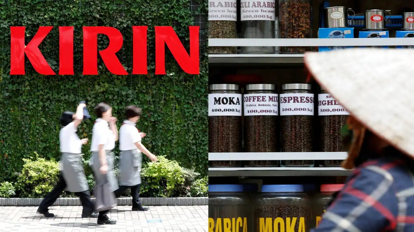 Japanese beverage firm supports Vietnam's coffee growers