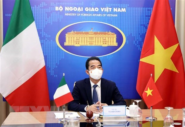 Vietnam, Italy to strengthen high-level visit exchanges