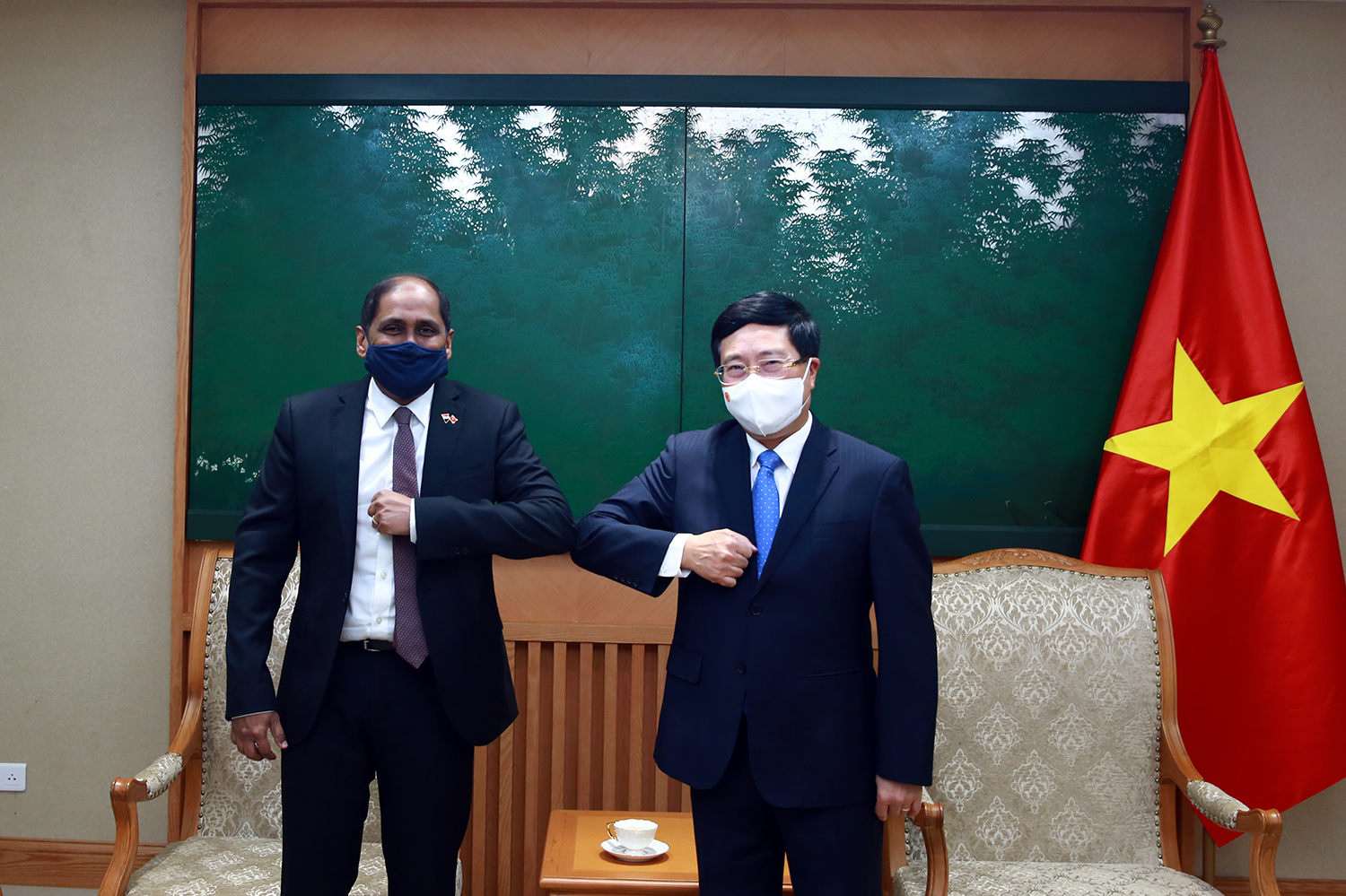 Vietnam proposes cooperation with Singapore in Covid-19 prevention, vaccines