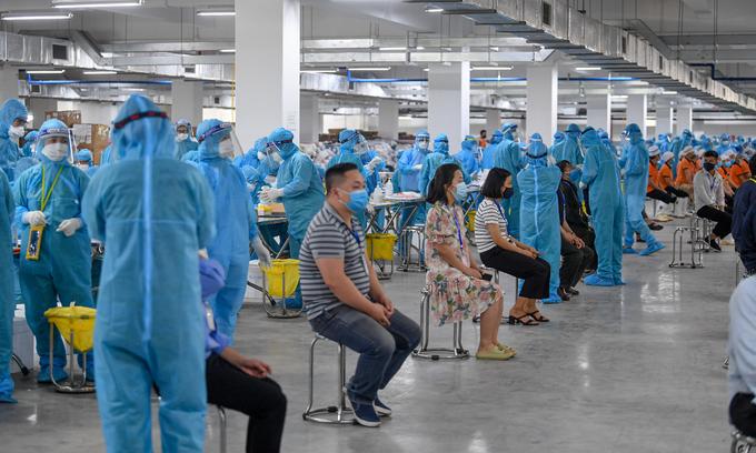 Coronavirus-hit Bac Giang, Bac Ninh Provinces to receive 300.000 vaccine doses