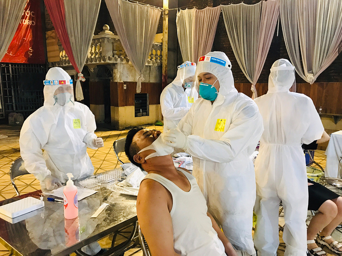 Two more field hospitals set up in Bac Ninh amid Covid-19 surge
