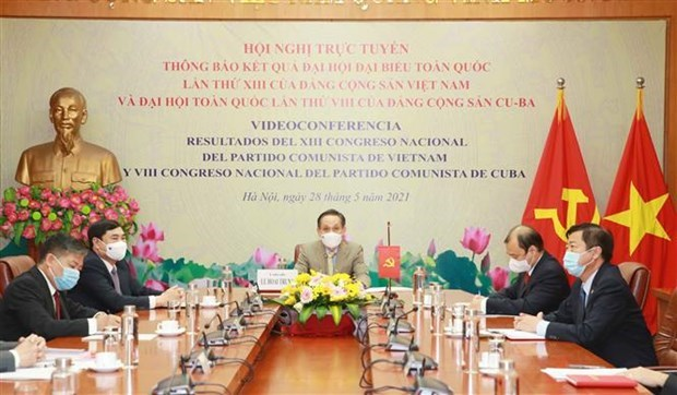 Vietnam wishes to foster relations with Cuban, Russian Parties