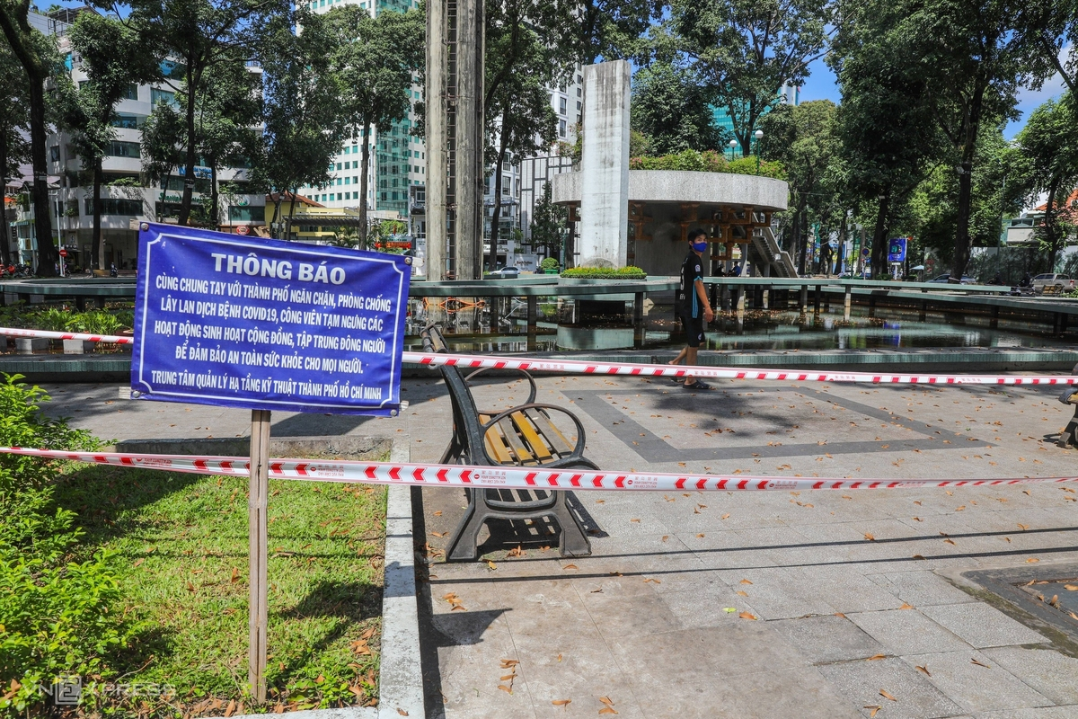 In Photos: Ho Chi Minh City deserted as new Covid-19 outbreaks detected