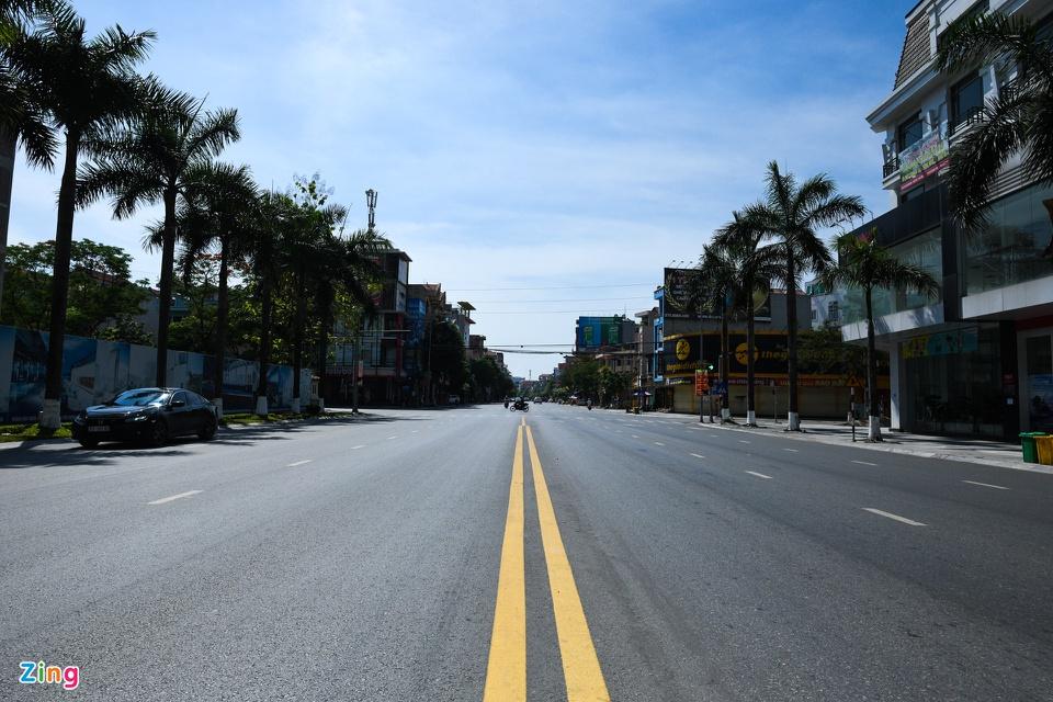 In Photos: Coronavirus-hit Bac Ninh deserted during social distancing