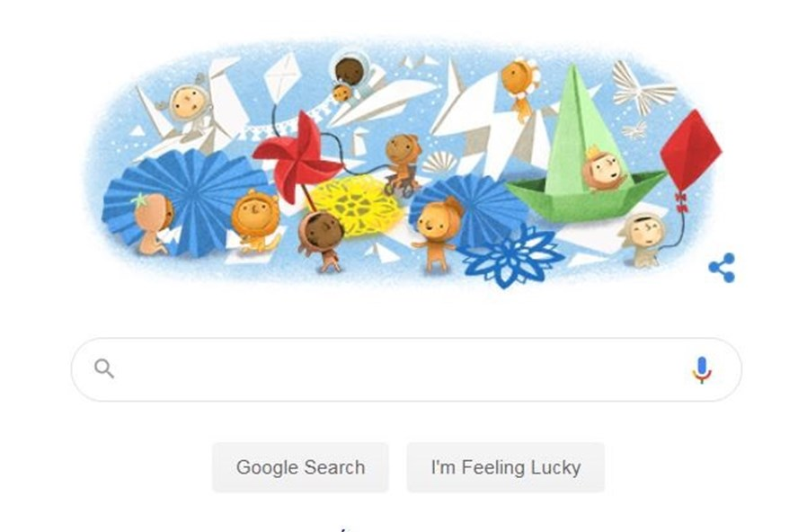 Google Doodle celebrates International Children's Day 2020