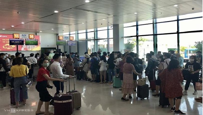 Domestic arrivals to Vietnam