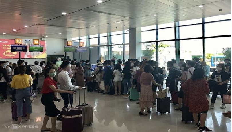 domestic arrivals to vietnams destinations increases sharply