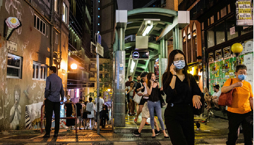hong kong extends social distancing restrictions as a cluster of coronavirus infections detected